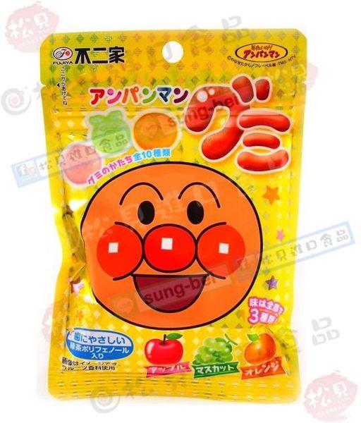 《松貝》不二家麵包超人水果QQ軟糖50g【4902555123578】cc26
