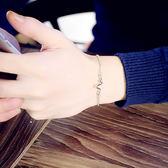 韓版手鐲便宜簡約韓國甜美學生清新手鍊