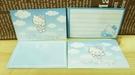 【震撼精品百貨】Hello Kitty 凱蒂貓~KITTY卡片-天使藍