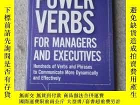 二手書博民逛書店Power罕見Verbs for Managers and Ex