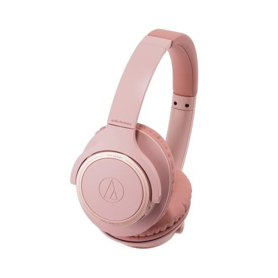 全新 鐵三角 ATH-SR30BT 粉色 輕量化 無線藍牙耳罩式耳機 台灣鐵三角公司貨