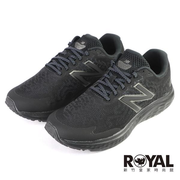 New Balance 680 全黑 4E楦 網布 輕量 緩震 慢跑鞋 男款 NO.B2160【新竹皇家 M680LK7 4E】