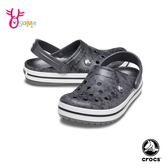 Crocs卡駱馳洞洞鞋 男鞋 電波紋 園丁鞋 防水布希鞋 水陸鞋 懶人鞋 A1745#灰色◆OSOME奧森鞋業