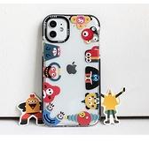 iPhone 8 7 Plus SE2 超萌ins風可愛卡通 手機殼 透明軟殼 全包矽膠防摔保護套 個性保護套 保護殼