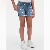 Gap女童時尚水洗波點牛仔短褲539955-波點
