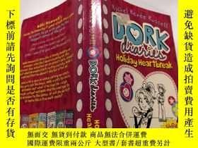 二手書博民逛書店Dork罕見Diaries : Holiday Heartbreak: 呆子日記:假日心碎.Y212829