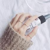 【新飾界】戒指:s925銀女日韓簡約一圈指環