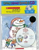 (二手書)Biggest Snowman Ever (Book + Audio CD)