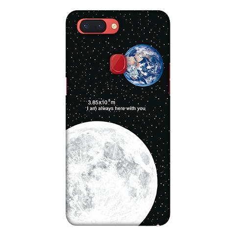 [r15pro 軟殼] OPPO R15 Pro CPH1831 手機殼 外殼 保護套 月球地球