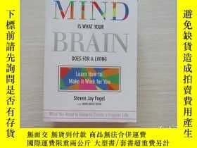 二手書博民逛書店YOUR罕見MIND IS WHAT YOUR BRAIN DO