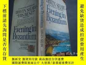 二手書博民逛書店英語原版《EVENING罕見IN BYZANTIUM》Y6833