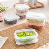 3個裝 保鮮盒透明水果密封盒微波爐便當盒塑膠飯盒【倪醬小舖】