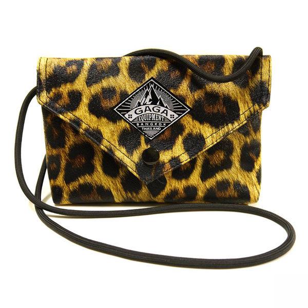 ☆小時候創意屋☆ 泰國曼谷設計師品牌 豹紋GAGA包 夜店晚宴包 手機包 化妝包