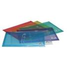 《享亮商城》OM-FA4HA41 透明  A4加厚繞繩橫式公文袋