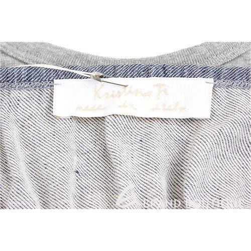 Kristina Ti 藍灰色交叉細肩洋裝 0820033-06