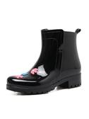 休閒雨鞋女士可愛中筒雨靴防水防滑韓版水靴成人膠鞋套鞋水鞋外穿 『快速出貨』