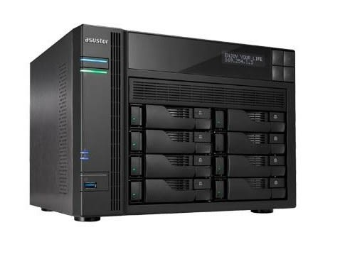 ASUSTOR 華芸 AS-6208T 8Bay網路儲存伺服器 NAS