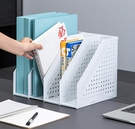 文件收納架 得力可折疊文件框多層伸縮書立文件架桌面辦公用品文件夾【快速出貨八折下殺】