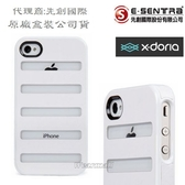 x-doria【雙料視窗】原廠保護殼、手機殼 Apple【iPhone4、iPhone4S】專用【先創國際代理公司貨】