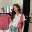泫雅風網紅同款超火小個子短袖t恤女夏季學...