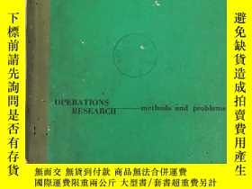 二手書博民逛書店operations罕見research methods and