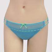 【瑪登瑪朵】浪漫細緻蕾絲  低腰三角萊克內褲(北歐藍)(未滿3件恕無法出貨,退貨需整筆退)