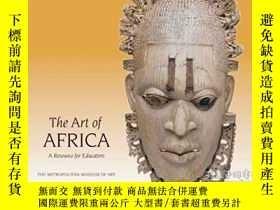二手書博民逛書店The罕見Art of Africa: A Resource f