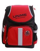 UnMe 3071賽車護脊後背書包-紅
