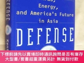 二手書博民逛書店英文原版罕見精裝 大開本 Pacific Defense: Arms, Energy, and America s