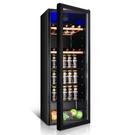 萬愛BC-131單門小冰箱家用小型冷藏櫃飲料茶葉保鮮透明玻璃門冰吧