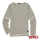 SPAO男款休閒舒適條紋上衣-共4色