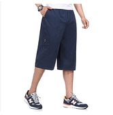 工裝短褲男士夏天薄款大馬褲衩寬鬆多口袋復古7七分褲