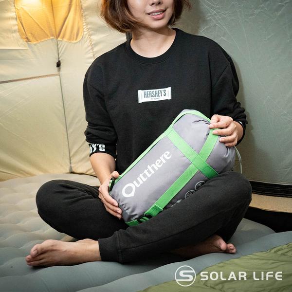 Outthere好野 易洗抗蟎好窩睡袋-100%Thermolite科技七孔棉.四季信封睡袋 輕量露營睡袋