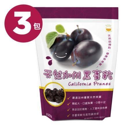 新多維多 天然加州黑棗 (200g/ 3包)【杏一】