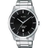 ALBA 雅柏 城市簡約時尚手錶-黑/40mm VJ42-X211D(AS9C93X1)