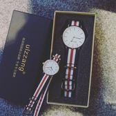 手錶女學生韓版簡約 潮流休閒男大氣歐美創意黑白情侶·皇者榮耀3C旗艦店