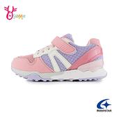 Moonstar女童鞋 月星HI系列機能鞋 童機能鞋 女童運動鞋足弓 矯正鞋 J9612#粉紫◆OSOME奧森鞋業