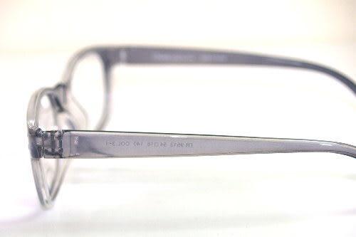 韓國進口TR90材質塑膠鈦TR90時尚近視用光學膠框9513/9517(透灰)