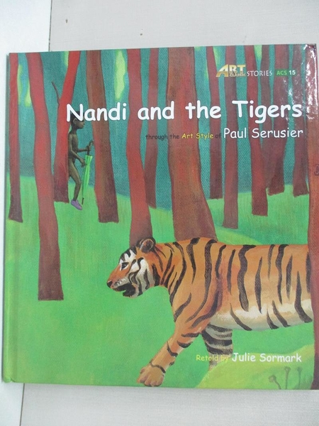 【書寶二手書T1/少年童書_KX1】Nandi and the tigers_original Korean text by Jinrak Kim; text by Julie Sormark & e-fut
