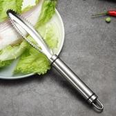 304不銹鋼魚鱗刨家用刮魚鱗神器手動殺魚刀具 去魚鱗刀廚房小工具