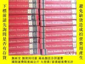 二手書博民逛書店Merit罕見Students Encyclopedia(全英文