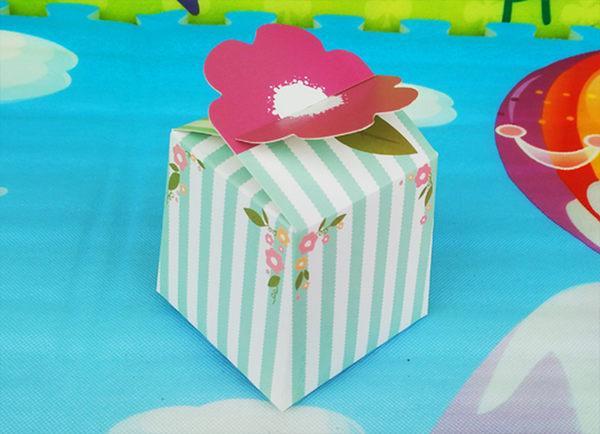 新年花開 小方盒 烘焙包裝 禮品包裝 餅乾糖果盒 餅乾袋 年節禮品 蛋糕 西點盒 牛軋糖