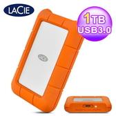 【LaCie 萊斯】Rugged 1TB USB-C/USB3.0  2.5吋 行動硬碟