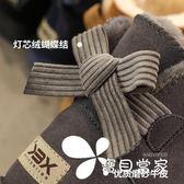 雪靴 新款蝴蝶結真皮雪地靴女冬季短筒保暖加絨短靴子女士學生秋冬女鞋