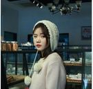 預購-秋冬季帽子女韓版潮百搭2018新款加厚毛帽防寒護耳女士毛線帽