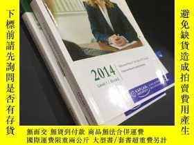 二手書博民逛書店CFA罕見2014 Level 1 Book3 Financial Reporting and Analysis