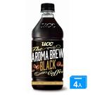 UCC艾洛瑪黑咖啡525ml x 4【愛...