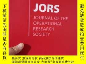 二手書博民逛書店Journal罕見of the Operational Rese