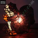 INPHIC-熱情的小松鼠純手工藝術品檯燈客廳裝飾兒童房賀禮物小夜燈造型燈造型夜燈_S2626C