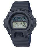【人文行旅】G-SHOCK | DW-6900LU-8DR 雙色錶帶設計潮流錶 灰色